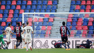 Футболистите на Рома се утешиха с разгром над Болоня