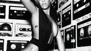 """Риана с убийствени снимки за новия си албум """"Rated R"""""""