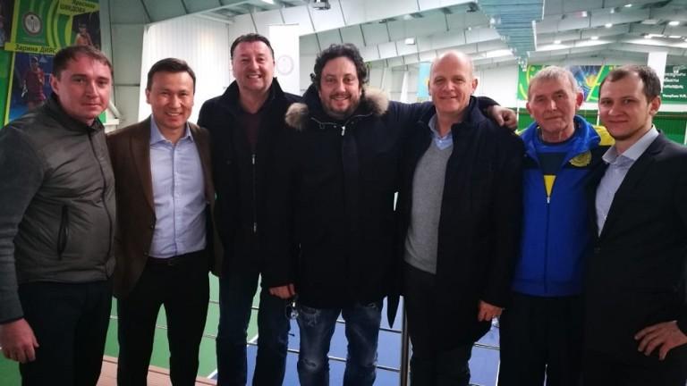 Босът на българския тенис е на официално посещение в Казахстан