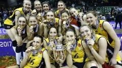 Световните шампионки от ВакъфБанк пристигнаха в Пловдив