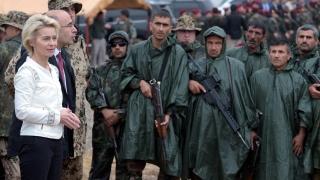 Германия прекратява обучението на кюрдските бойци пешмерга