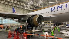 САЩ наредиха задълбочена проверка на някои самолетни двигатели