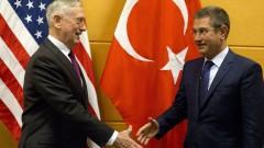 """Турция да се съсредоточи върху """"Ислямска държава"""" в Сирия, призова Пентагонът"""