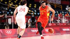 Испания не се затрудни срещу Япония на старта в Токио