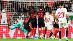 Севиля тества шампионските амбиции на Атлетико (Мадрид)