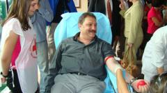 Министър Желев дари кръв
