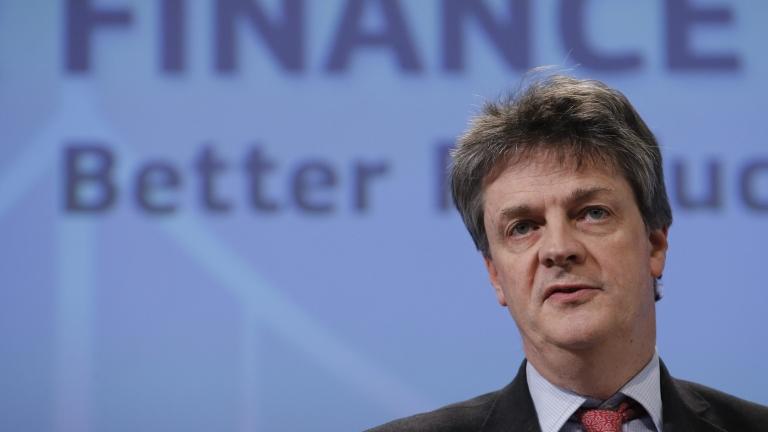Британският комисар Джонатан Хил подаде оставка