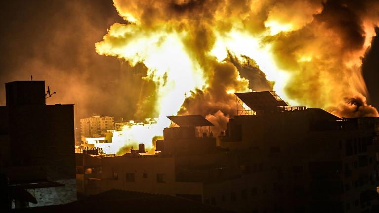 3700 ракети по Израел, 1400 ранени палестинци на Западния бряг и Източен Йерусалим