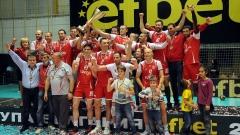 Нефтохимик спечели безапелационно купа България по волейбол