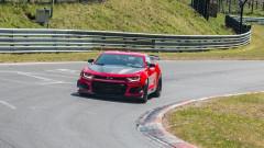 Най-бързото Camaro на всички времена на пистата в Нюрбургринг (ВИДЕО)