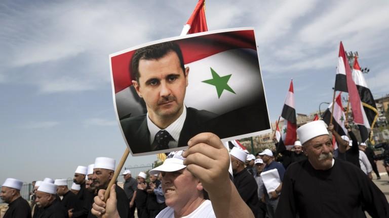 Сирия върна на Франция престижния Орден на почетния легион, връчен