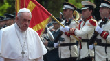 Папа Франциск от Скопие: Северна Македония свързва Изтока и Запада