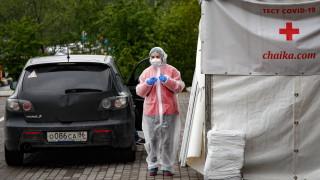 В Русия починалите от COVID-19 надхвърлиха 11 000 души