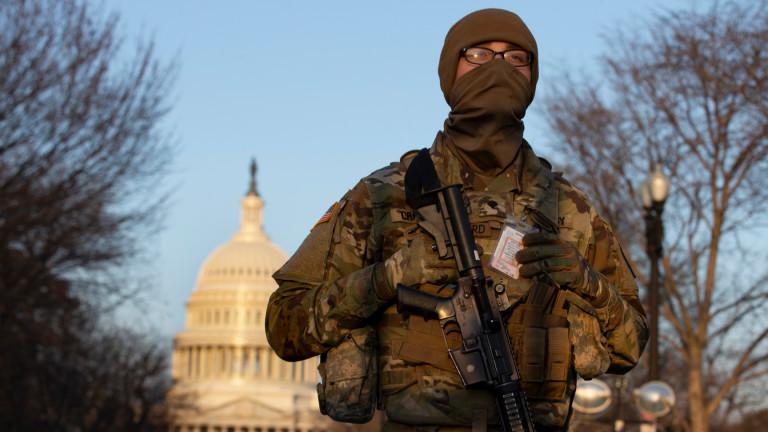 Националната гвардия остава в Капитолия до 23 май