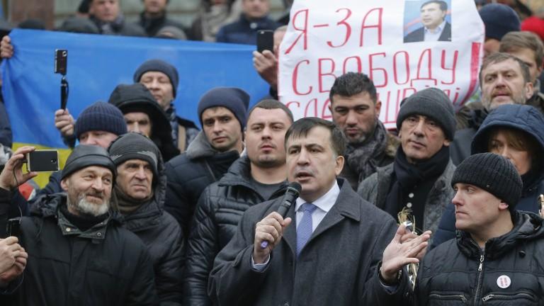 Саакашвили осъден задочно на 3 години затвор в Грузия