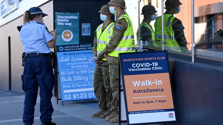 Австралия с COVID-19 рекорд за 2021-а, докато 15 млн. души са в строг локдаун от 6 седмици
