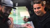 Хамес Родригес стана татуист (СНИМКА)