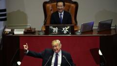 Тръмп предупреди Пхенян, че може да допусне фатална грешка