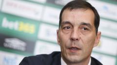 Петричев: Не обмисляме смяната на Дамбраускас, ЦСКА искаше повече победата