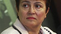 Кристалина Георгиева видя края на кризата в еврозоната