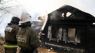 11 загинали при пожар в дървена постройка за мигранти в Сибир