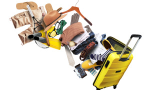 10 трика за минимално намачкване на дрехите в куфара