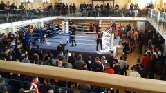 """""""Юнашки салон"""" препълнен със зрители на Държавния шампионат по муай тай"""