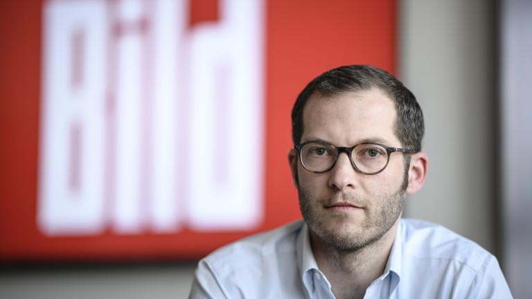 Юлиан Райхелт, главен редактор на вестник Bild в Германия, временно
