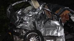 Шофьор загина, а дете е с опасност за живота след катастрофа на пътя Русе – Бяла