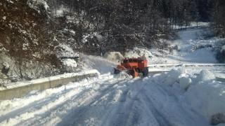 Разчистиха пътя до Сърница две седмици след снежния капан