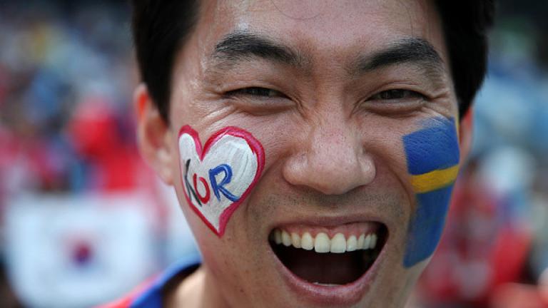 Швеция 0 : 0 Южна Корея 5′ Натиск на Корея
