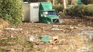 Най-малко 13 загинали от кални свлачища в Калифорния