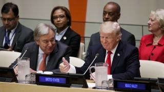 За 4 минути Тръмп призова ООН да се реформира