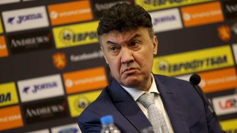Шефът на английската федерация към Михайлов: Скъпи Боби, нека заедно победим расизма!