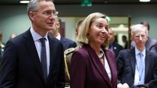 НАТО и ЕС засилват сътрудничеството си