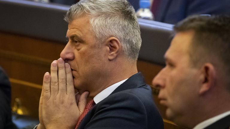Хашим Тачи пред косовари: Готов съм да подам оставка като президент
