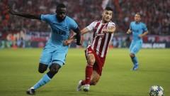 Тотнъм пропиля два гола аванс в Гърция