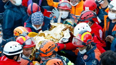 3-годишно момиченце спасено 65 часа след земетресението в Турция