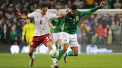 Дания изпревари Уелс след нулево реми с Ирландия