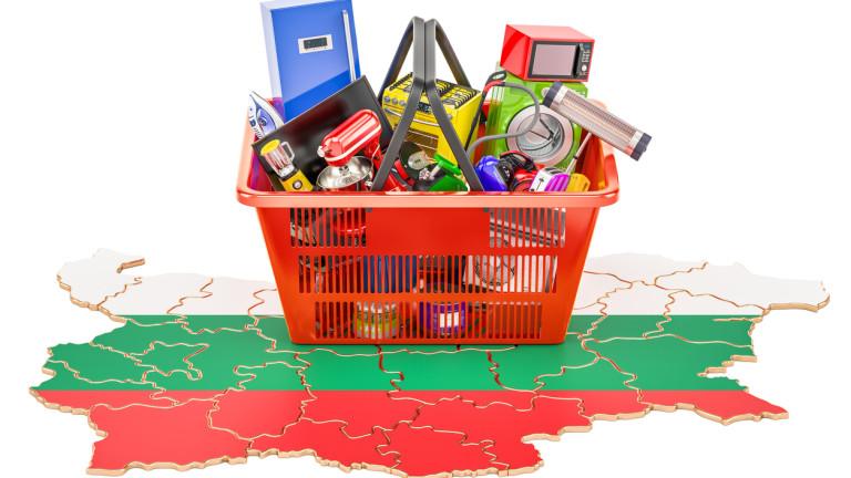 Инфлацията от началото на годината (август 2019 г. спрямо декември