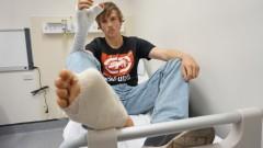 В Австралия присадиха на ръката на младеж пръст от крака му