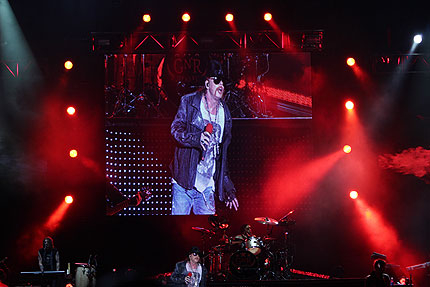 Guns N' Roses издават концертен 3D филм