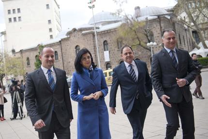 Реформаторите поговориха с Плевнелиев за енергетика и нови избори
