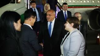 Премиерът пристигна на посещение в Южна Корея