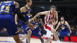 Александър Везенков с 9 точки и 5 борби за Олимпиакос