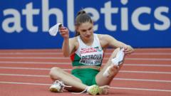 Габи Петрова даде заявка за медал на Световното
