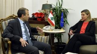 Повече помощ от ЕС за Ливан обеща Могерини