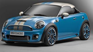 Mini показа новото Coupe Concept