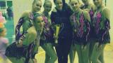 """Левски """"Бонитас"""" спечели държавната титла по естетическа гимнастика"""