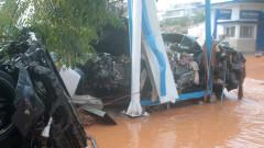 Силни валежи и наводнения в цяла Гърция